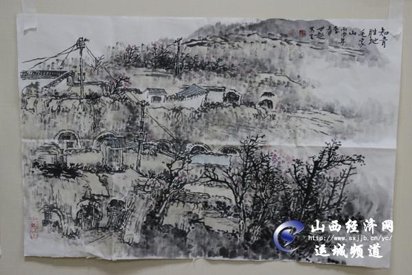 当代著名山水画名家黄世超作品展图片